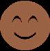 Emoji smiling face.